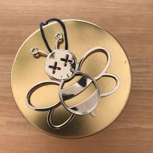 Dior x Kaws Bee keychain